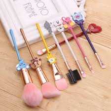 <b>8PCS</b>/Set Korea Eyeshadow Makeup Brushes Set Lovely Women ...
