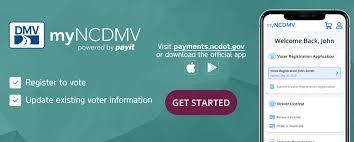 official ncdmv voter registration