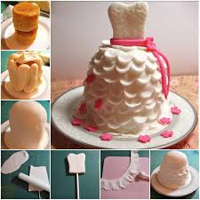 Diy Wedding Dress Cupcake Recipe And Tutoria Usefuldiycom