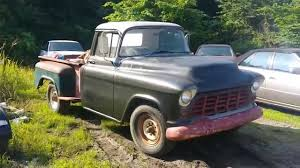1956 Chevy Apache truck for sale - YouTube