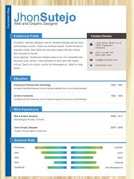 Colorful Resume Templates Colorful Resume Templates