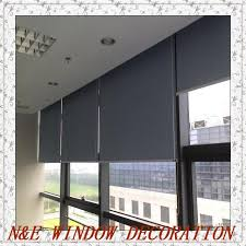 office window blinds. Free Shipping Customized Size High- Quality Livingroom/office Window Blinds 100% Blackout Roller Office 8