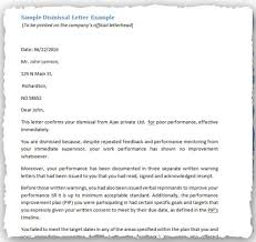 Employee Termination Letter Inspiration Sample Written Warning Letters Including Employee Policies