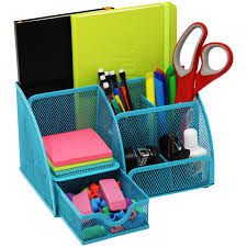 plastic office desk. Mesh Office Desk Organizer With 3 Compartments + Slots Drawer â\u20ac\u201c Can Be Us.. Plastic