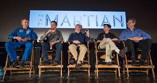 Coletiva com ator Matt Damon na Nasa, sobre filme 'Perdido em Marte