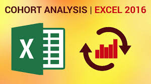 How To Make A Cohort Chart In Excel How To Perform Cohort Analysis In Excel 2016