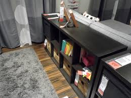 Expedit Room Divider ikea kallax used to be expedit cube bookcase as a sofa table 5816 by guidejewelry.us