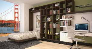 murphy bed home office. Seven Ways To Decorate The Back Wall Of A Murphy Bed Styles Home Office