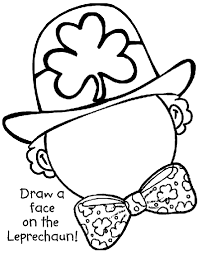 Small Picture Complete the Leprechaun Coloring Page crayolacom