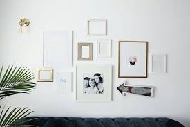 modern white picture frames. White Wall Frames Call Attention To Your Favorite Photo On Gallery By Pointing A . Modern Picture