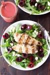 Fresh Cherry Salad...