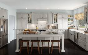 Shenandoah Cabinetry Kitchen Painted Stoned Winchester Door