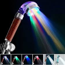shower led lighting. 2017 temperature control led light shower head home bathroom faucet accessories filter bath nozzle spa anion glow water saver from speakout 602 dhgate lighting