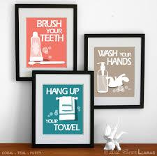 Bathroom Art Prints, Wash Your Hands, Brush Your Teeth, Wash ...