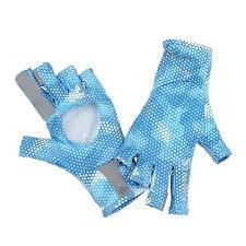 Simms Solarflex Sun Gloves Sky