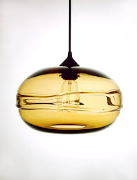 glass blown pendant lighting. blownglass clear band pendant collection of organic origins freshomecom glass blown lighting o