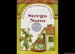 tomie depaola s 1975 book about an elderly woman s magical pasta pot won him the caldecott honor