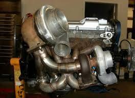 Compound turbo setup 4age