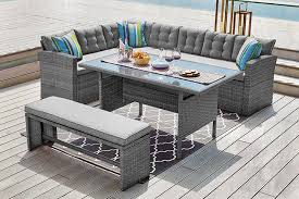 549 instead of 994 48 from dreams outdoors for a 10 seater rattan garden furniture set or 599 to include a cover save up to 45