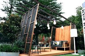 diy outdoor privacy screen ideas nice for