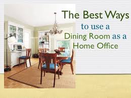 dining room and office. Dining Room Home Office And