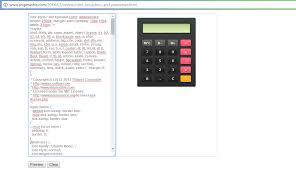 html calculator form free custom calculator and firework gadget code for blogger ship