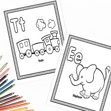 Coloring pages can be great for learning as they are fun and are also super great for stress relief! The Alphabet Coloring Pages Fun Happy Home