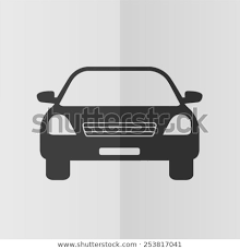 Foldable Paper Car Car Vector Icon Effect Folded Paper Stock Vector Royalty Free