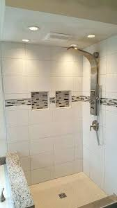 glass accent tile photo of home renovation mi united states bathroom remodel with glass accent tile glass accent tile