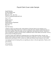 Accounts Clerk Cover Letter Gallery - Cover Letter Ideas