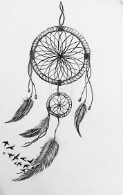 How To Draw A Dream Catcher Dream Catchers Drawing 100 Beautiful Dream Catcher Sketches I Dream 56