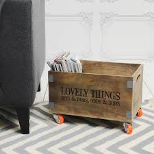 wooden crate on wheels designs for 9