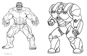Avengers Printable Coloring Pages Fashionadvisorinfo