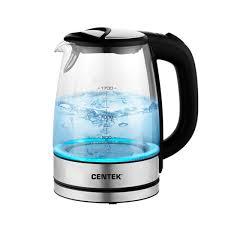 <b>Чайник электрический Centek</b> CT-0058 Sydney, стекло купить в ...