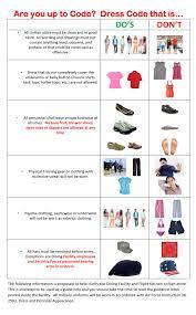 web DFAC Dress Code