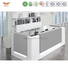 white gray solid wood office. Wholesale Clients First Elegant Reputation Solid Wood Office Reception  Dimensions Front White Desk Modern White Gray Solid Wood Office A