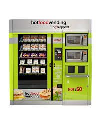 Frozen Product Vending Machine Adorable Bon Appetit Hot Food Vending Machine LTT Vending