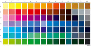 Pantone Colour Shade Card Paints Wall Putty Varnishes