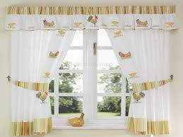 Chicken Kitchen Curtains