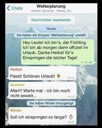Der Frühling Hat Eine Whatsapp Gruppe Gegründet Lustig Lustig