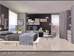 one  on the sims resource sims 3 wall art with ung999 s one room living bedroom