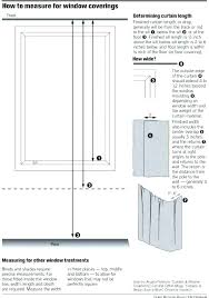 Curtain Measurements For Bay Windows Size Rod Measuring