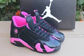 womens size 14 shoes order jordan 14 gs black desert pink for women size 5 5 to 8 girls