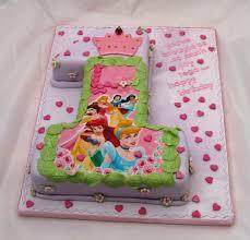 Princess 1st Birthday Cake Disney Princesses 1st Birthday Cake