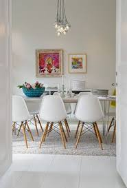 dining room inspiration white dining room with pops of colour