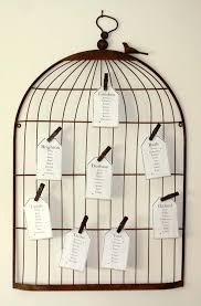 Birdcage Memo Board Enchanting Birdcage Table Plans Vintage Wedding Decorations Wedding Decoration