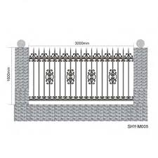 Wrought Iron Fence Styles And Designs Modern Simple Elegant European Style Wrought Iron Fence Buy Wrought Iron Fence Wrought Iron Fence Designs European Style Wrought Iron Fence Product