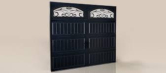 black garage doorClopay  Steel Garage Doors  Black
