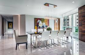 dining room tile flooring. luxury modern dining room with porcelain tile floors and multiple pendant light fixture flooring o