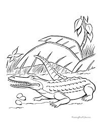 Small Picture Dinosaur coloring sheets Crocodile